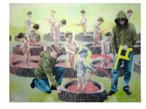 Gene Pool, or Axis Rising by Allen Egan