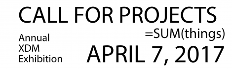 Open Call for Proposals/Projects - Annual Exhibition